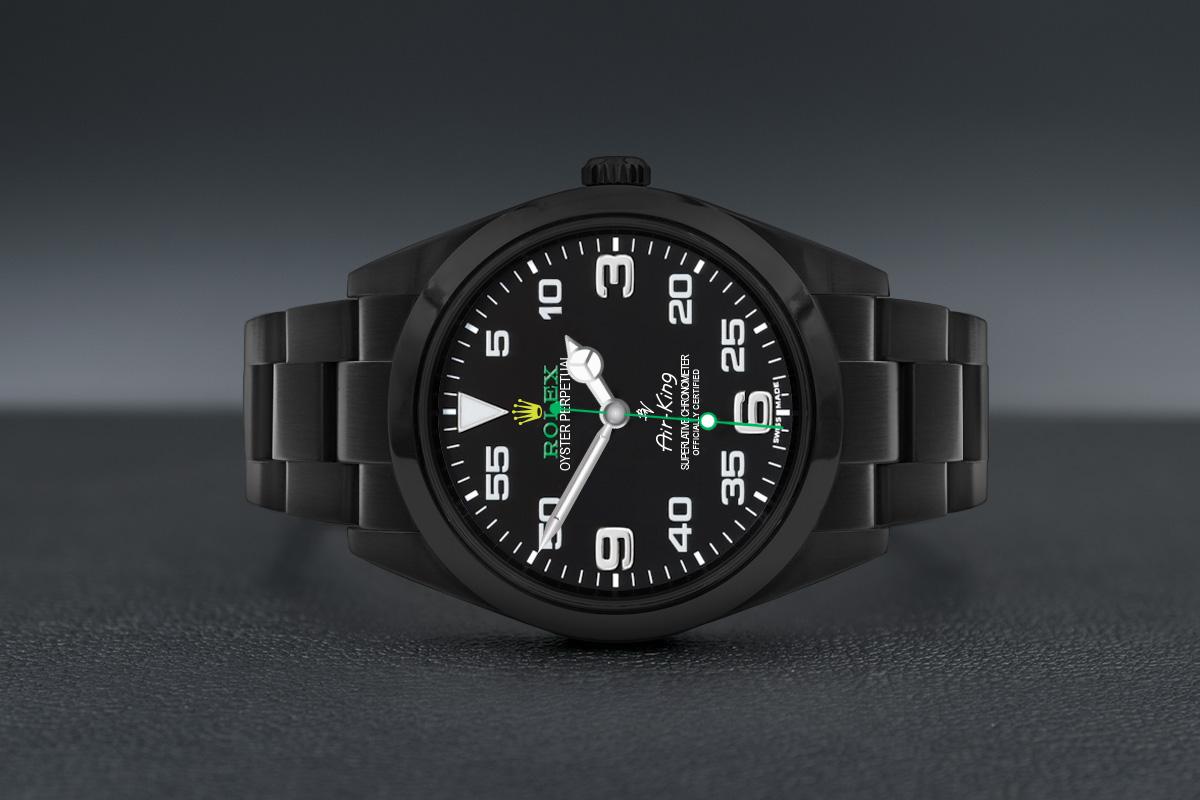 best loved 25ea0 cb9ba Rolex 116900 Black Venom - Limited Edition /35