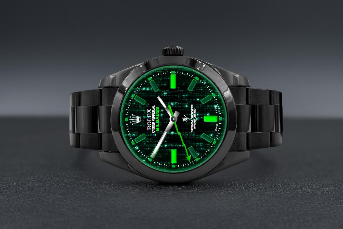 Rolex 116400 Black Venom , Matrix , Limited Edition /10