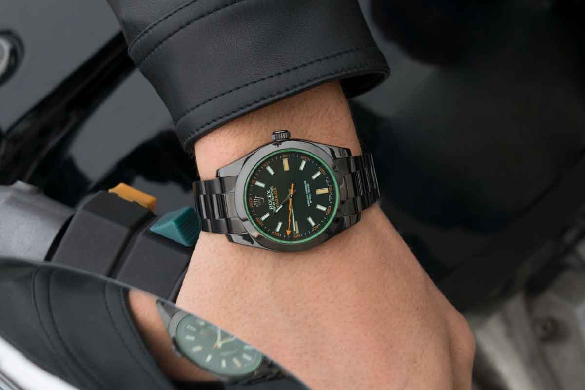 Rolex 116400GV Black Venom , Limited Edition /35