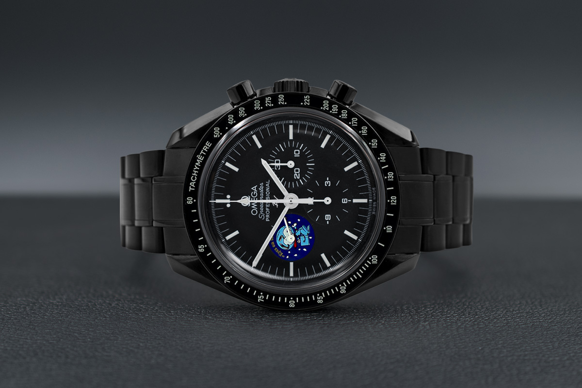 Omega Moonwatch Snoopy Black Venom Limited Edition 5