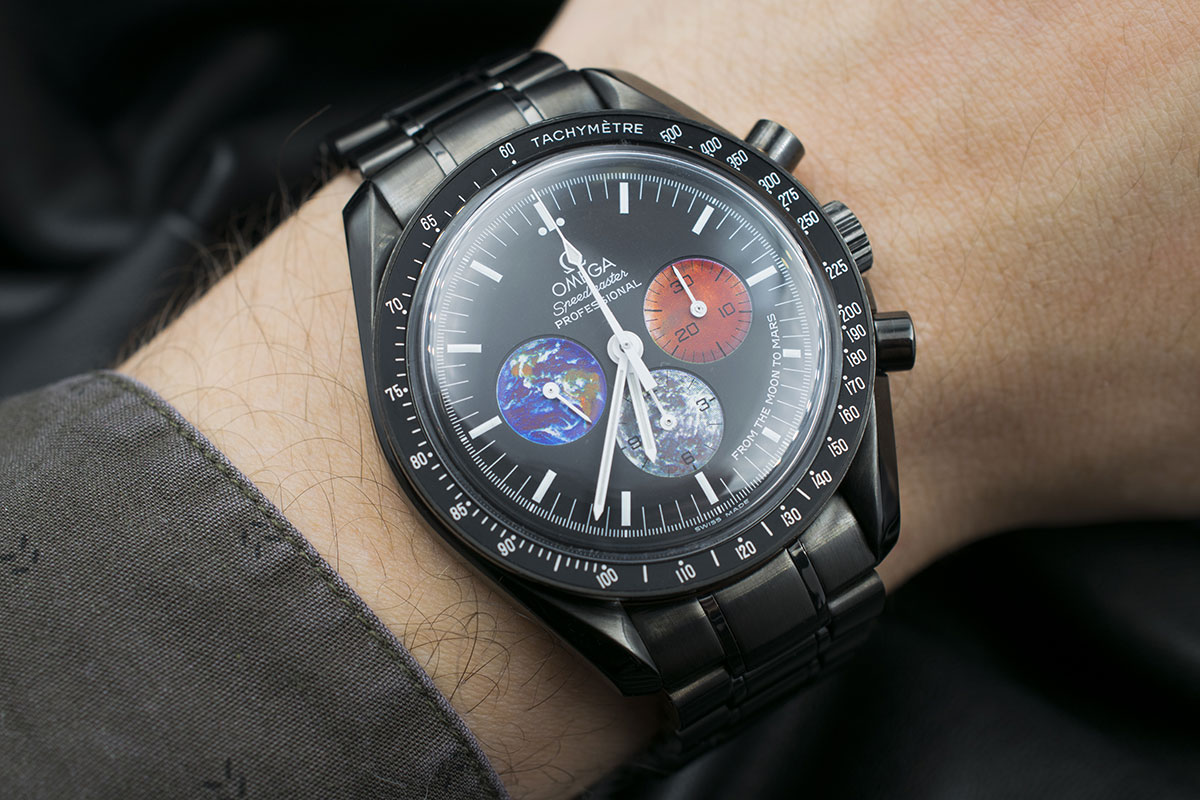 Omega Moonwatch From The Moon To Mars Black Venom Limited Edition 5