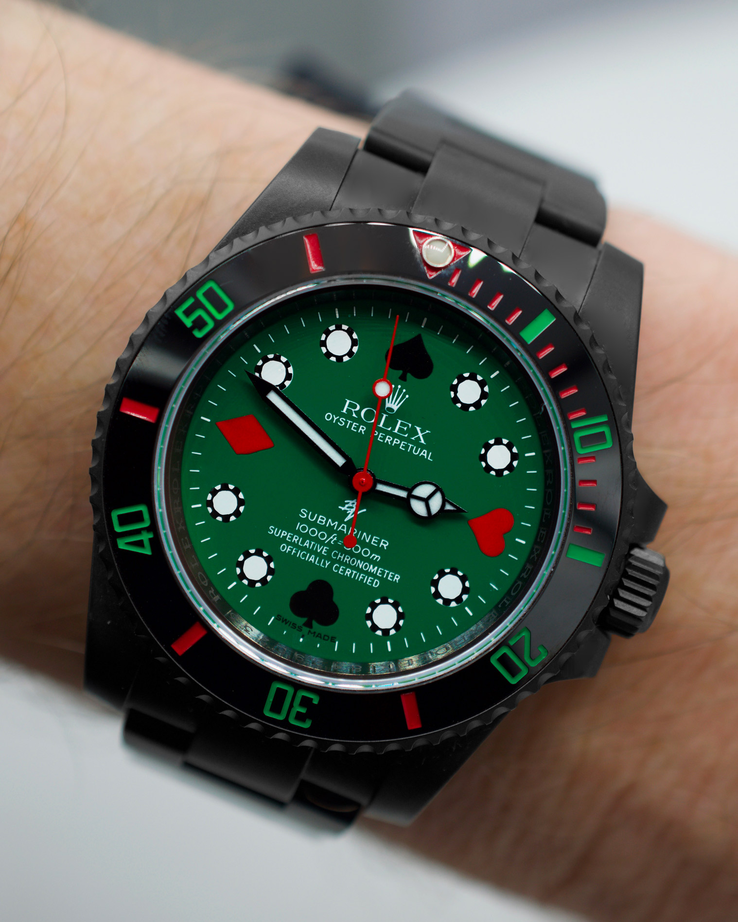 Rolex 114060 Black Venom Poker Limited Edition 10
