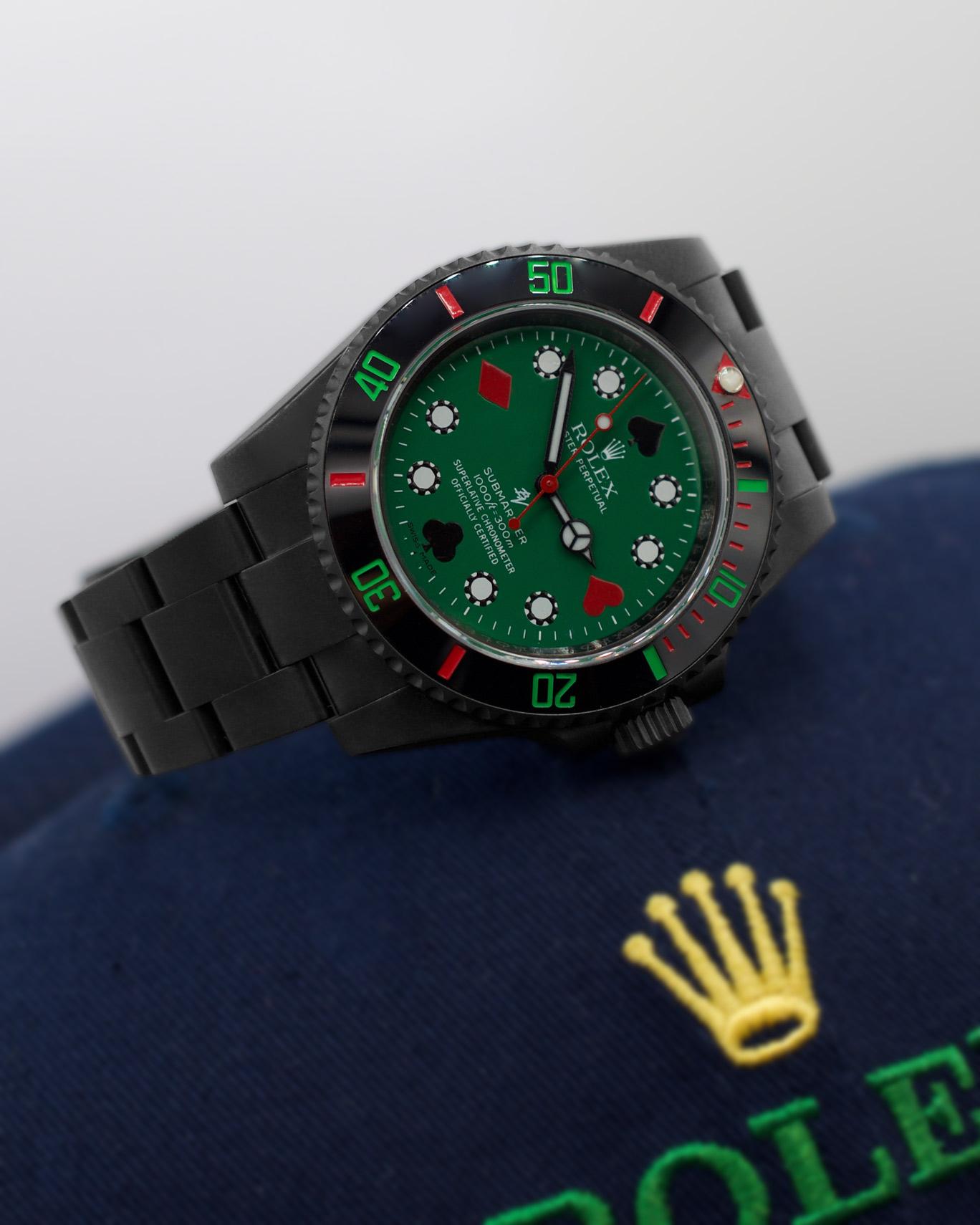 Rolex 114060 Black Venom Poker Limited Edition 10