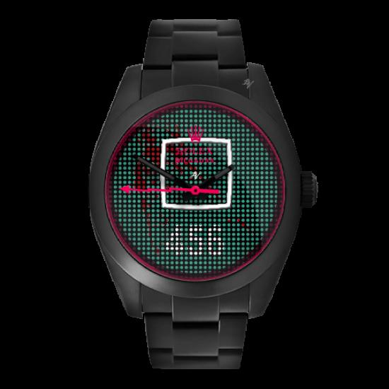 Rolex Milgauss Squid Watch - Limited Edition /1 Black Venom Dlc - Pvd *