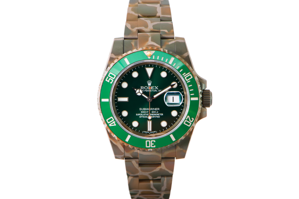 Rolex SUBMARINER 116610 HULK N.O.C CAMOUFLAGE - Limited Edition /10