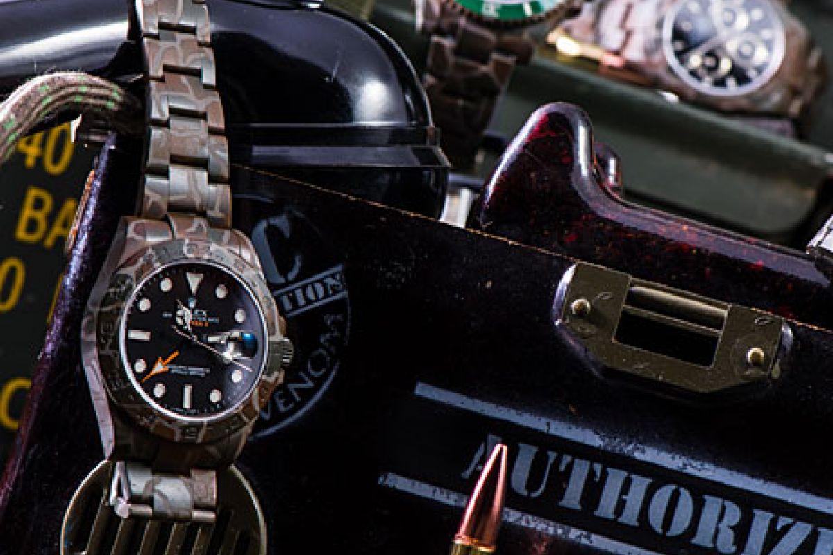Rolex SUBMARINER 116610 HULK N.O.C CAMOUFLAGE - Limited Edition /10