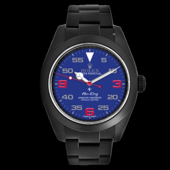 Rolex Blu dial - Limited Edition /10 Black Venom Dlc - Pvd