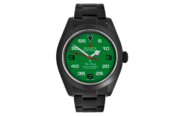 Green Dial - Limited Edition /10 Black Venom Dlc - Pvd