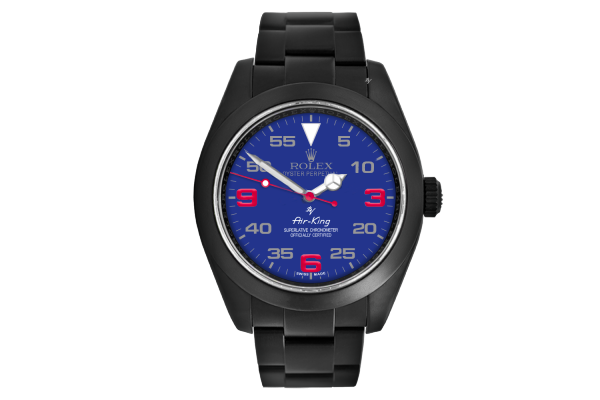 Blu dial - Limited Edition /10 Black Venom Dlc - Pvd