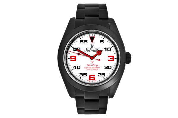 White dial - Limited Edition /10 Black Venom Dlc - Pvd