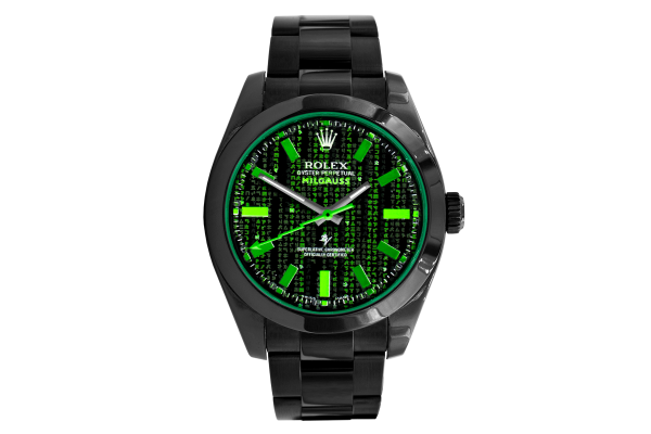 Rolex 116400 Black Venom - Matrix MK2 - Limited Edition /10