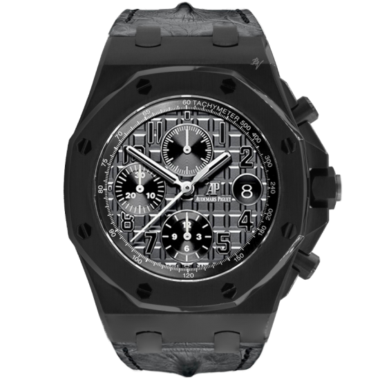 Audemars Piguet Limited Edition /10 Black Venom Dlc - Pvd