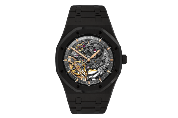 Audemars Piguet Double balance wheel openworked  Limited Edition /10 Black Venom Dlc - Pvd