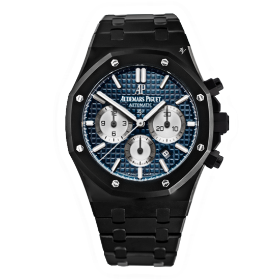 Audemars Piguet Blue Dial -  Limited Edition /10 Black Venom Dlc - Pvd