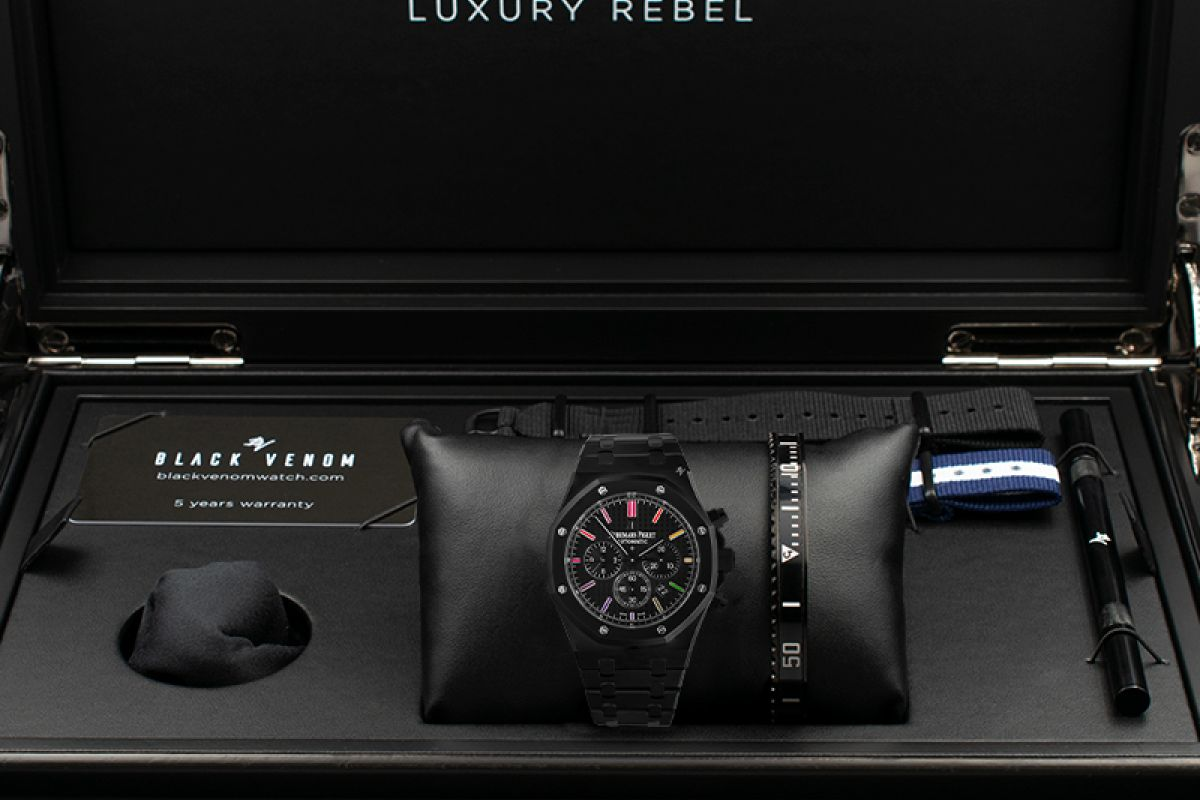 Audemars Piguet Dark Rainbow  -  Limited Edition /10 Black Venom Dlc - Pvd