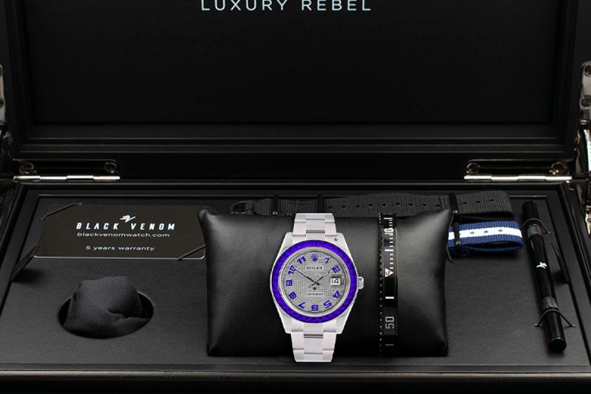 Rolex Seabed - Limited edition /5 - Black Venom custom