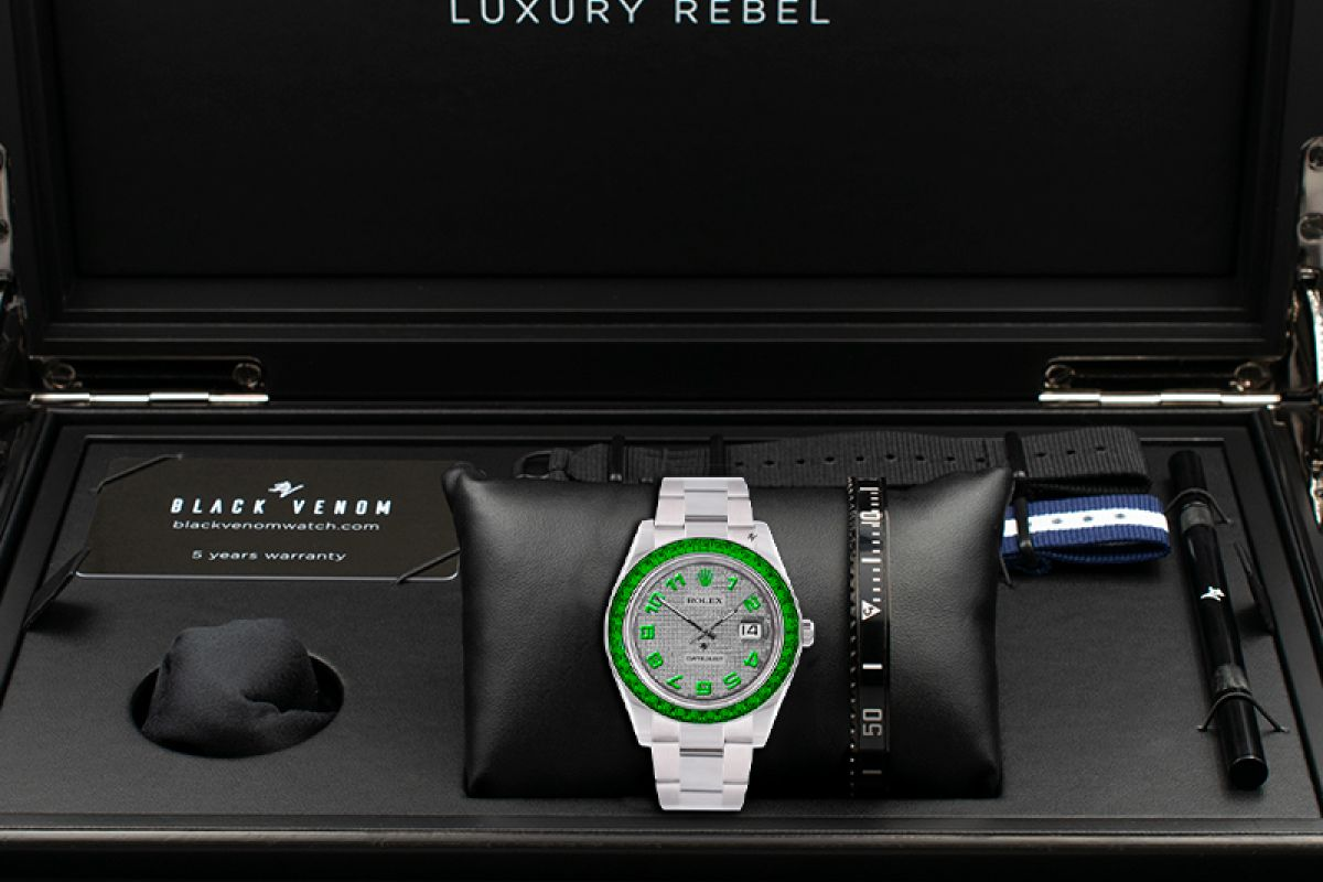 Rolex honest - Limited edition /5 - Black Venom custom