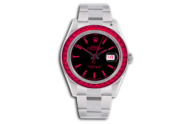 Rolex Red Passion - Limited edition /5 - Black Venom custom