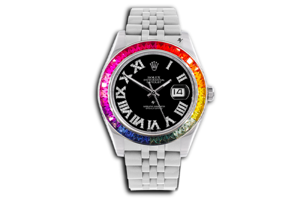 Rolex Rainbow contrast - Limited edition /5 - Black Venom custom
