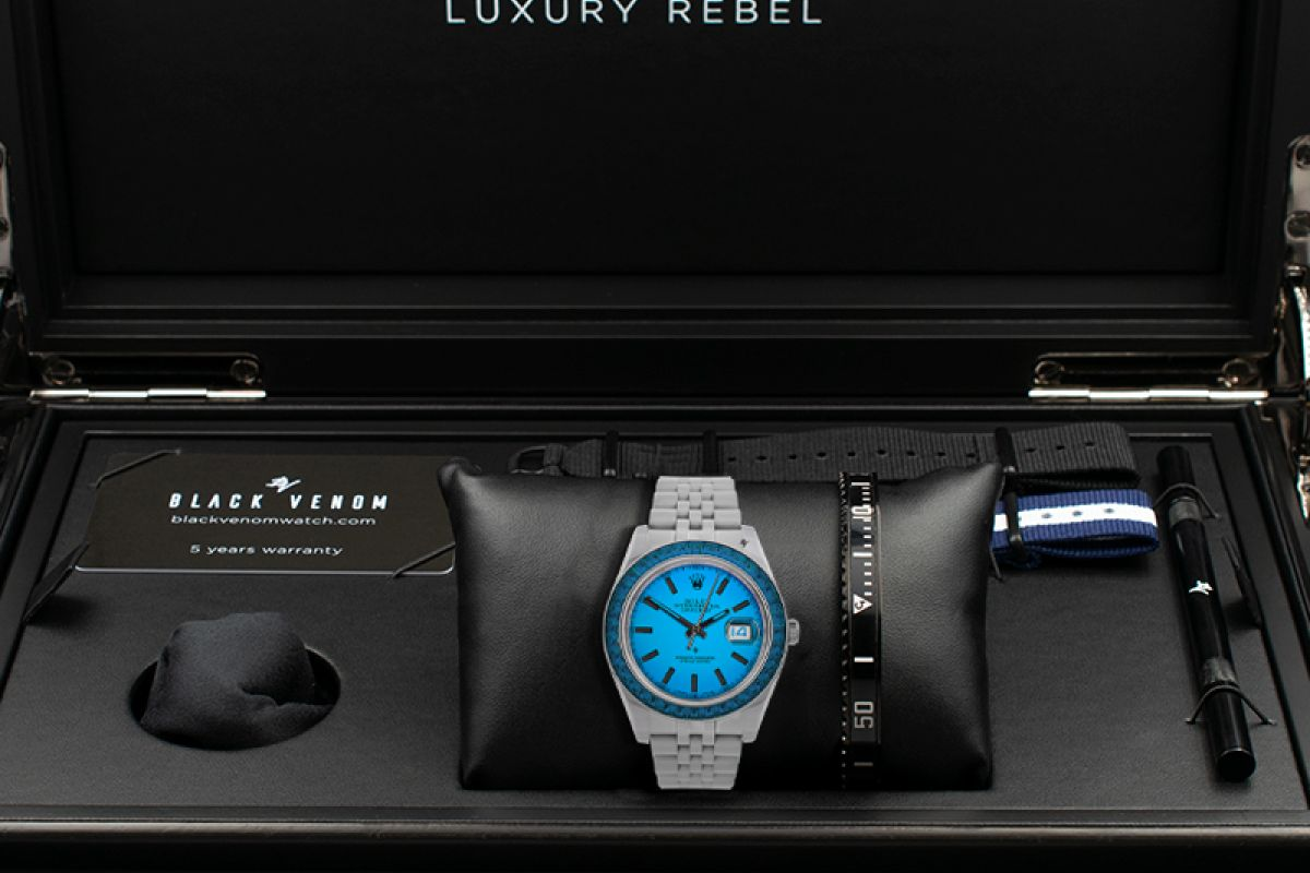 Rolex Open Sky - Limited edition /5 - Black Venom custom