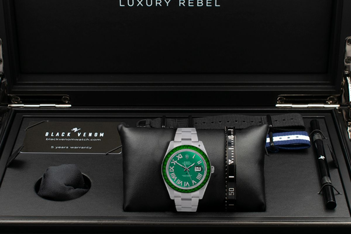 Rolex Fir - Limited edition /5 - Black Venom custom