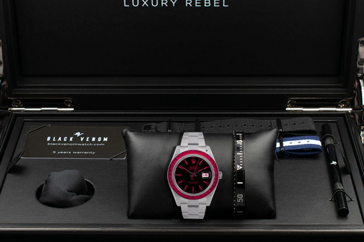 Rolex Red Passion - Limited edition /5 - Black Venom custom