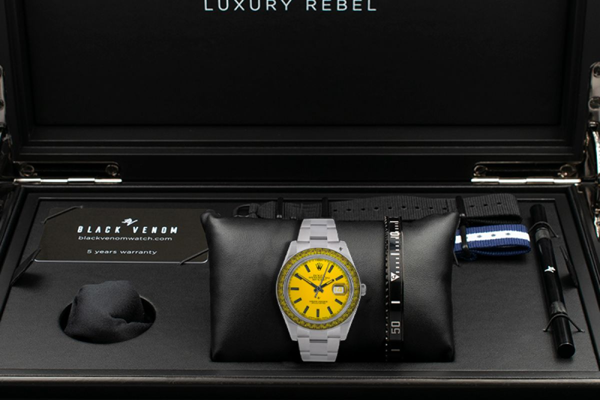 Rolex Star - Limited edition /5 - Black Venom custom