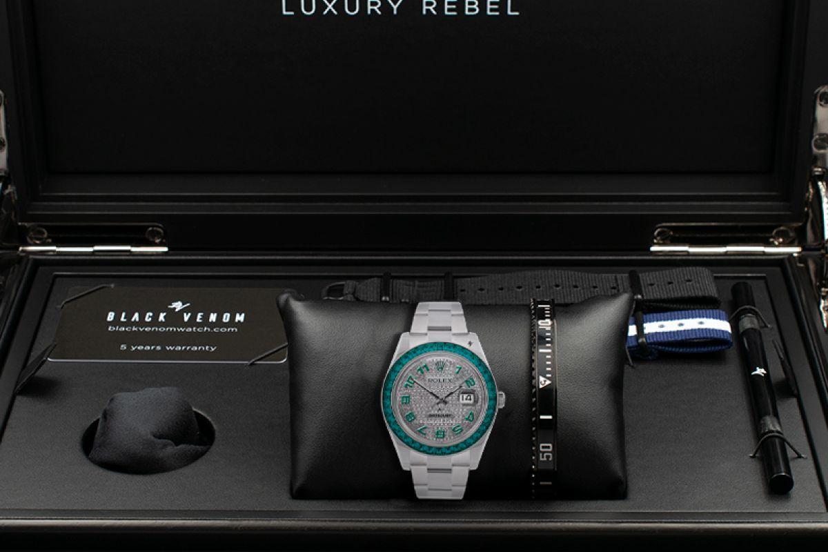 Rolex Clear - Limited edition /5 - Black Venom custom