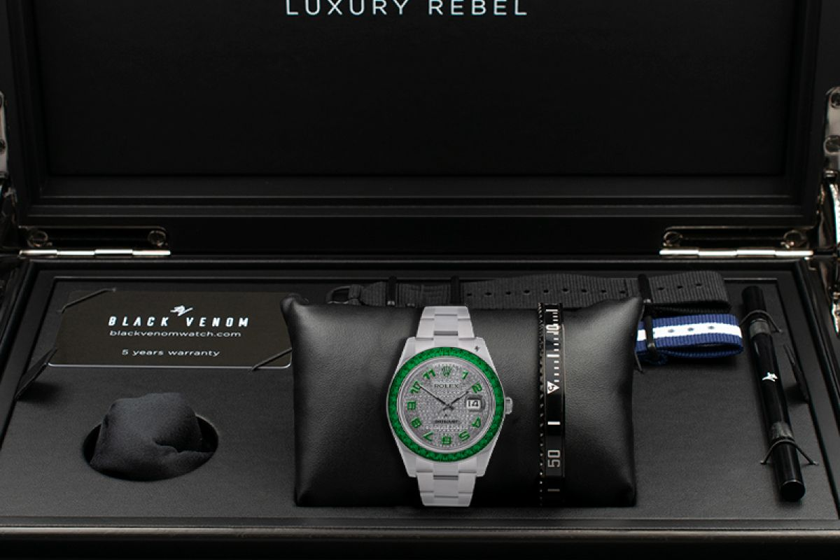 Rolex honest - Limited edition /5 - Black Venom custom