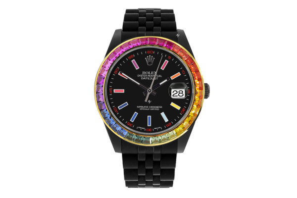Rolex Rainbow Limited edition /5 Black Venom Dlc - Pvd
