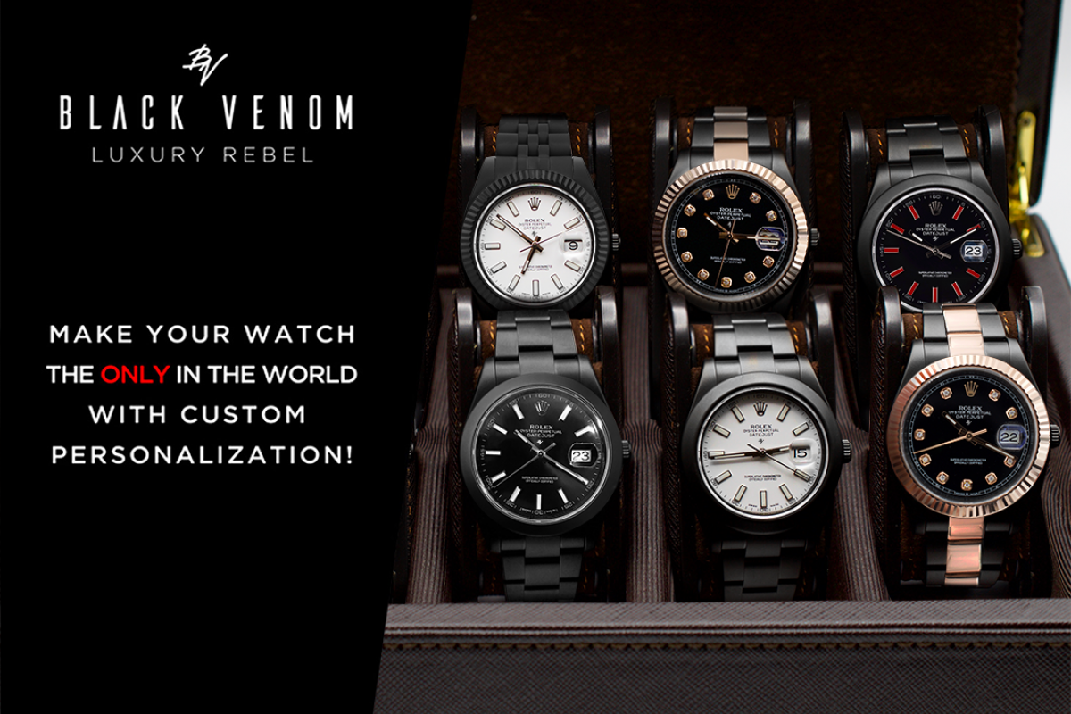 Rolex Limited edition /5 Black Venom Dlc - Pvd