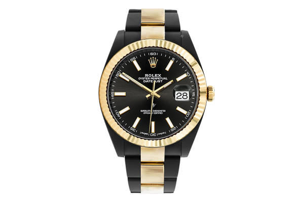 Rolex Steel Gold - Limited Edition /35 Black Venom Dlc - Pvd