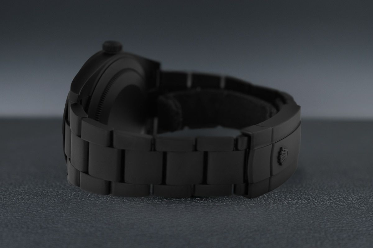 Rolex Diamonds - Limited Edition /35 Black Venom Dlc - Pvd