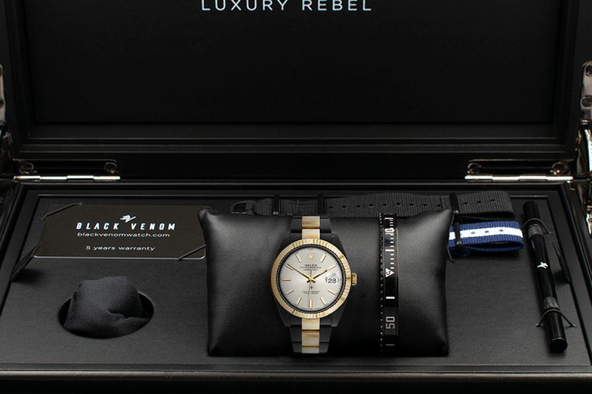 Rolex Steel Gold - Limited Edition /35 Black Venom Dlc - Pvd
