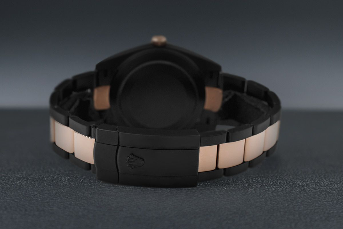 Rolex Steel Rose Gold - Limited Edition /35 Black Venom Dlc - Pvd