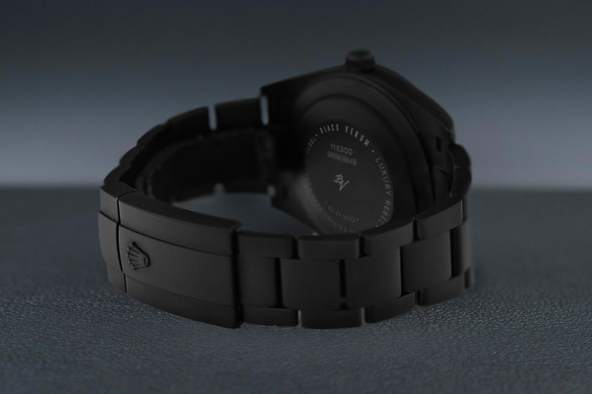 Rolex  Fresh - Limited Edition /10 Black Venom Dlc - Pvd