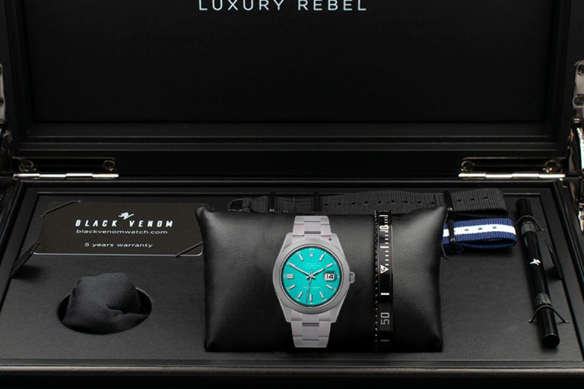 Rolex Limited edition /5 - Black Venom custom