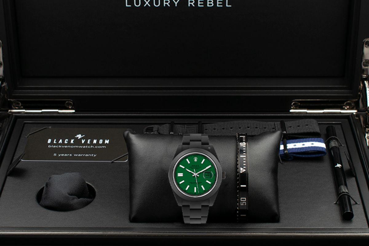 Rolex  luxuriant  - Limited Edition /10 Black Venom Dlc - Pvd