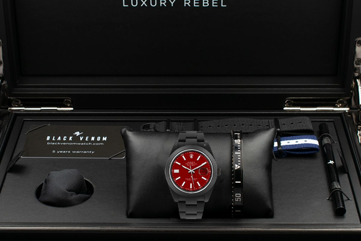 Rolex Cool - Limited Edition /10 Black Venom Dlc - Pvd