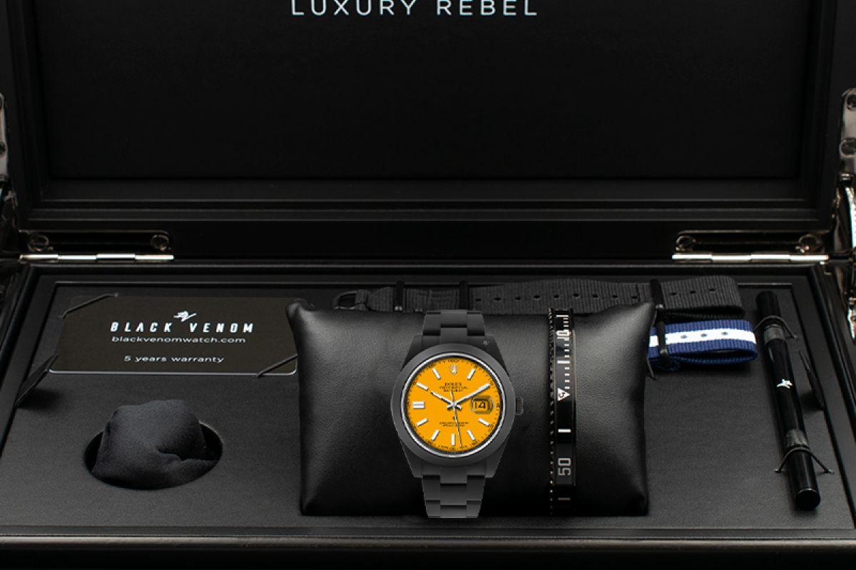Rolex Peel - Limited Edition /10 Black Venom Dlc - Pvd