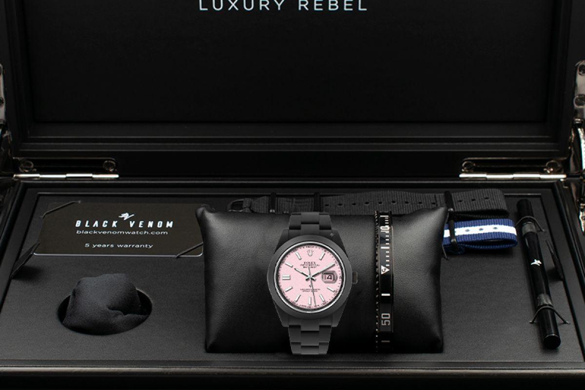 Rolex Kandy - Limited Edition /10 Black Venom Dlc - Pvd