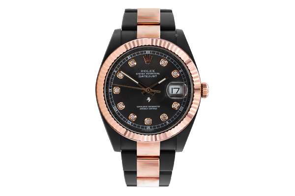 Steel Rose Gold - black diamond - Limited Edition /35  Black Venom Dlc - Pvd