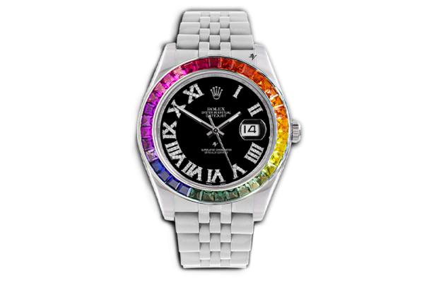 Rainbow contrast - Limited edition /5 - Black Venom custom