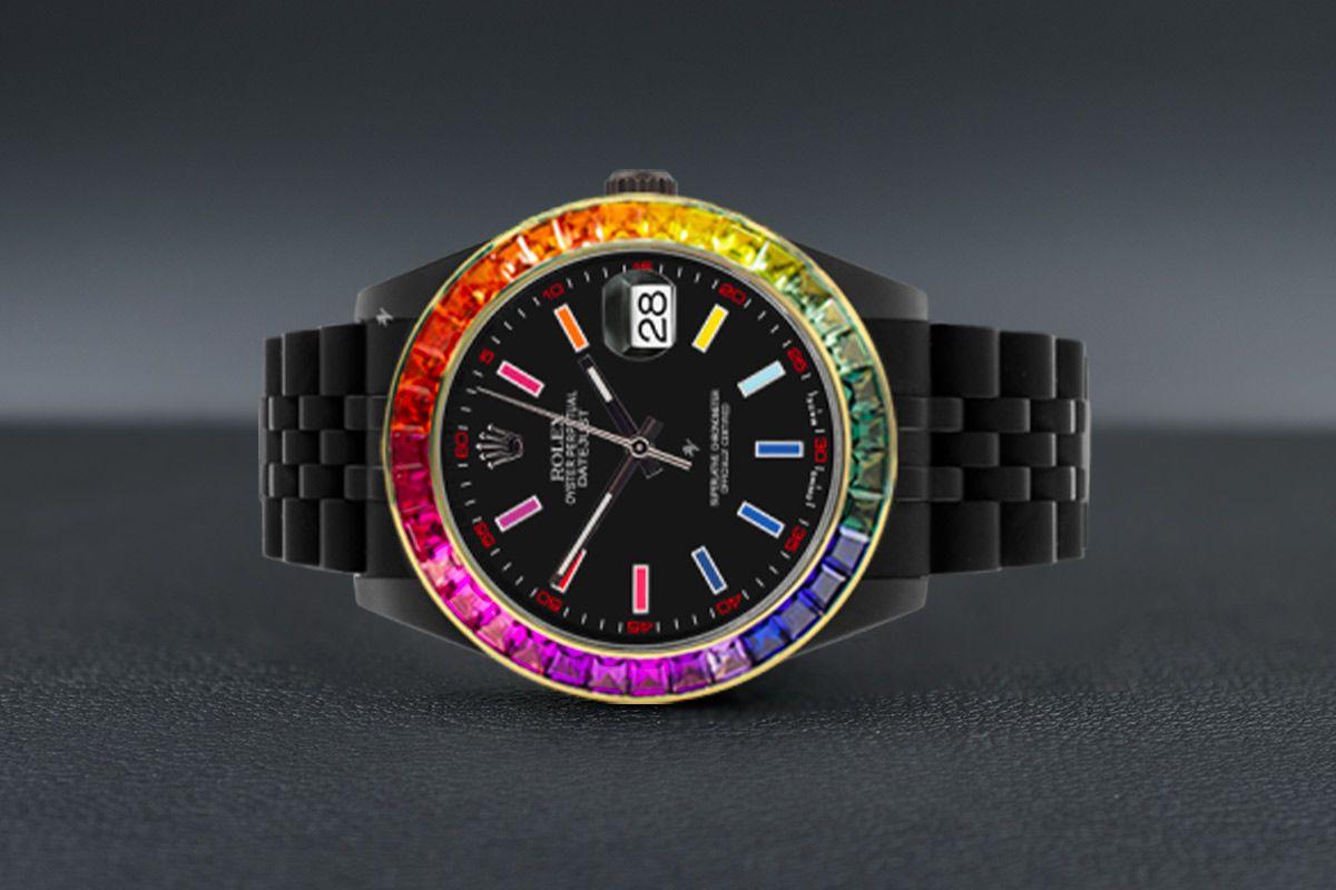 Rolex Rainbow Limited edition /5 Black Venom Dlc - Pvd