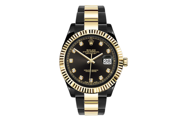 Rolex Steel Gold - Diamonds - Limited Edition /35