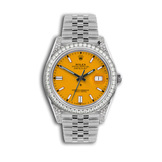 Rolex Datejust Rolex Datejust 36mm With Custom giallo diamonds dial