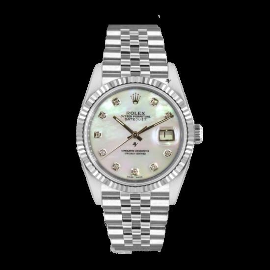 Rolex Datejust Rolex Datejust 36mm With Custom Mop diamonds dial