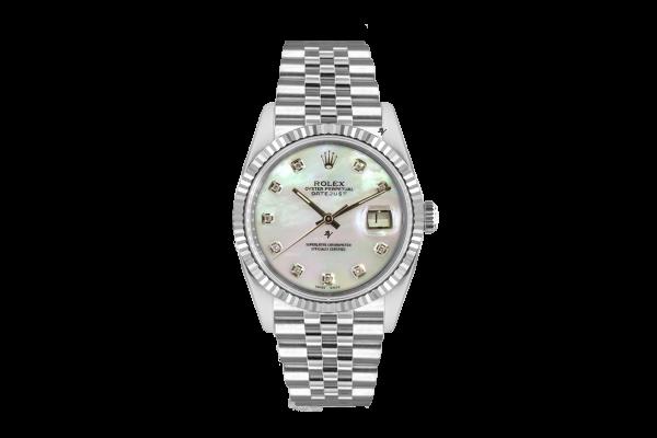 Rolex Datejust 36mm With Custom Mop diamonds dial