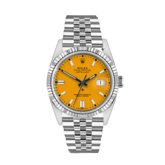 Rolex Datejust Rolex Datejust 36mm With Custom Yellow dial
