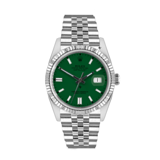 Rolex Datejust Rolex Datejust 36mm With Custom green dial